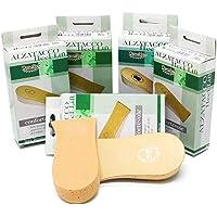 Alzatacco lungo in sughero e pelle per scarpe basse/scomode e per uso ortopedico