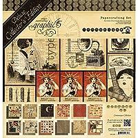 Graphic 45 Unidades Manualidades en Papel comunicado de coleccionista Edition Fiestas 4501253
