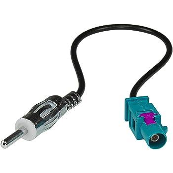 tomzz Audio 1500-029 Fakra 150 OHM M Antennenadapter Kupplung auf DIN Stecker F