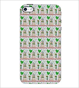 APPLE IPHONE 4 HEART PATTERN Designer Back Cover Case By PRINTSWAG