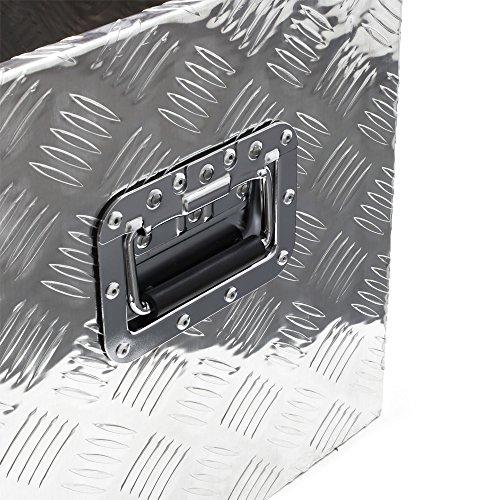Werkzeugbox Aluminium Alu-Box Transportkiste Staukasten Werkzeugkasten Kiste - 4