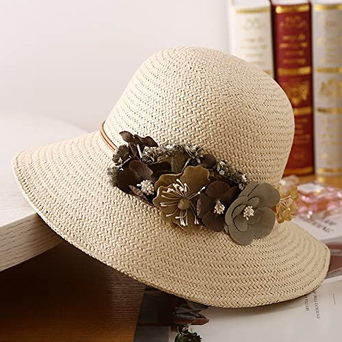 YMFIE Lady Beach Cappuccio Lato Ampio Appartamento Appartamento Appartamento ombrellone Hat Estate Filtro Solare UV Tour Leisure Sun Hat Cappello di Paglia,Un | Ultima Tecnologia  | Premio pazzesco, Birmingham  5ba872