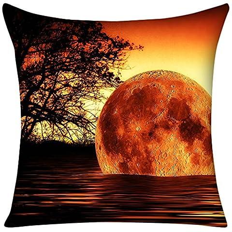 Violetpos Kissenbezug Cool Orange Sonnenuntergang Home Decor Werfen Kissen 80 x 80 cm