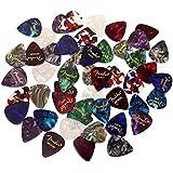 Fender 351 Guitar Picks, Thin, Medium & Heavy, Set of 6