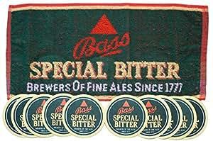 Amer pour Pub/Bar-SPECIAL &10 Tapis Dessous-de-verre à bière