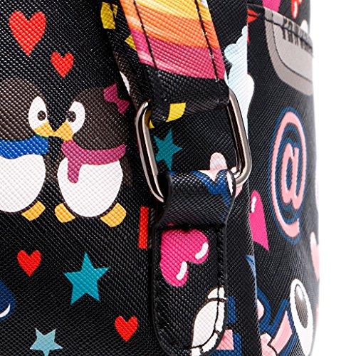 Dairyshop zaino donna Sacchetto zaino della spalla sacchetti scuola dello zaino modo per ragazzi adolescenti (1) 5