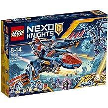 Nexo Knights - Halcón-bláster de combate de Clay (70351)