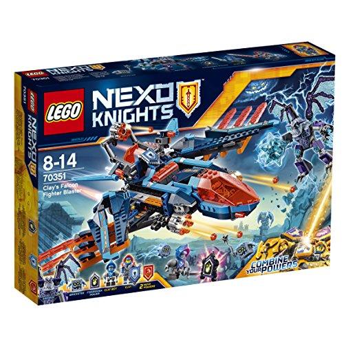 Preisvergleich Produktbild LEGO Nexo Knights 70351 - Clays Blaster-Falke, Kinderspielzeug