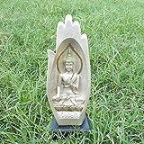[Sponsored]Sky Trends Buddha Handicraft Idol Lord Gautam Buddha Statue Decorative Spiritual Vastu Showpiece Figurine -Diwali Gift Item, Religious Gift Item & Murti For Mandir / Temple / Home Décor