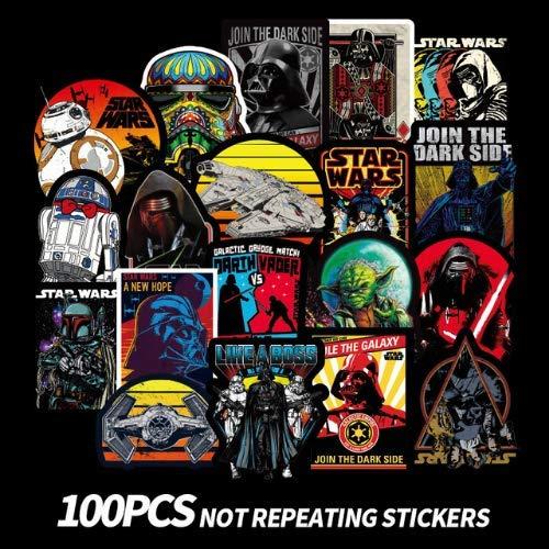 Star Wars Adesivi Scrapbook Valigia Skateboard Laptop Moto Graffiti Impermeabile Sticker Pack Giocattoli Per Bambini 100Pcs