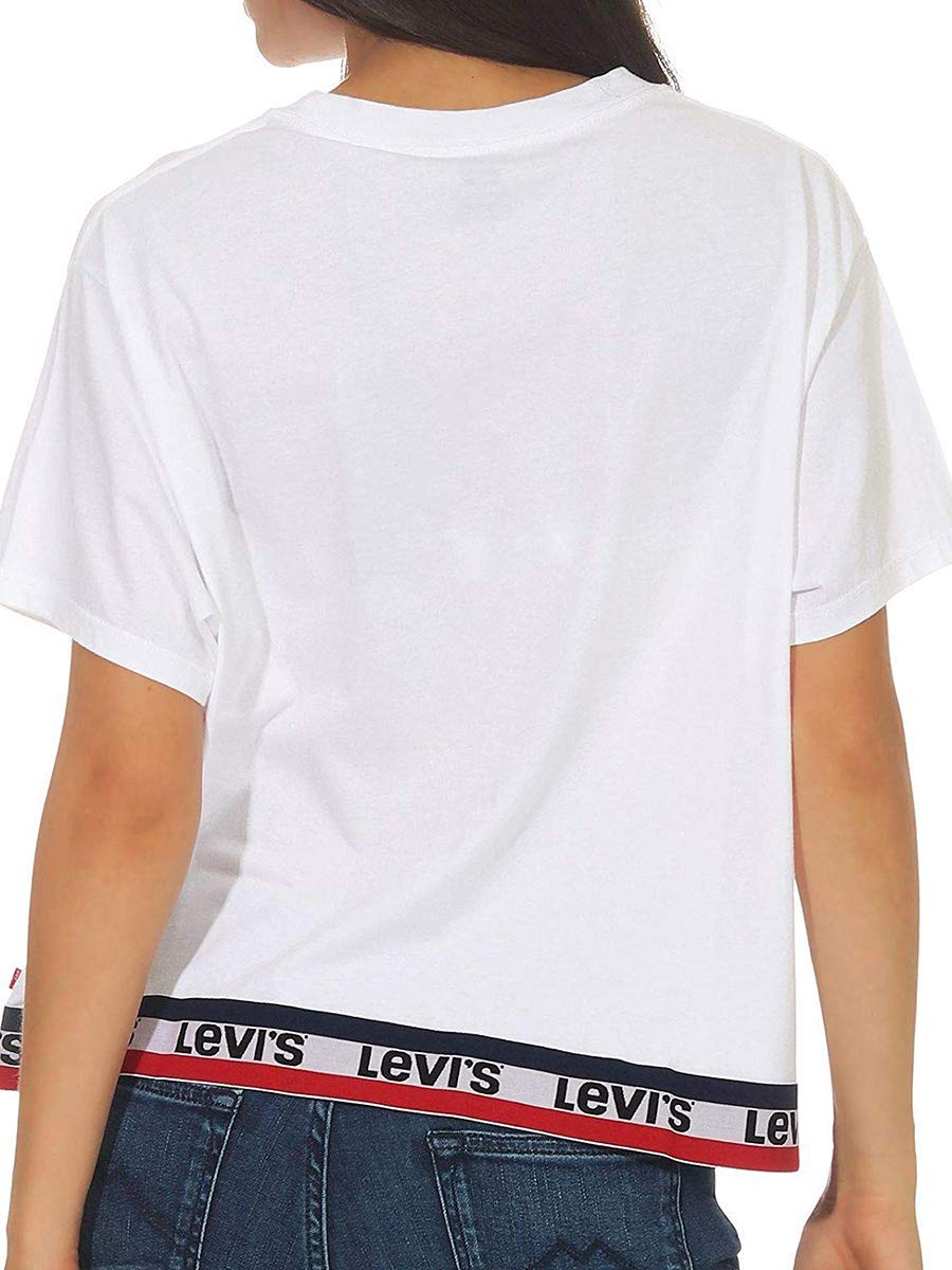 Camiseta Levis Tape Blanco