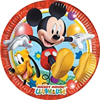 Unique Party Amscan Playful Mickey Paper Plates Party Accessory