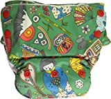 #4: Bumpadum 2.0 Stay Dry All-in-One Diaper (Konnichiwa)