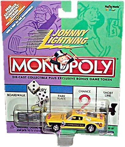 Johnny Lightning 2001 Monopoly Community Chest Ford Mustang Car by Johnny Lightning