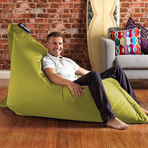 Bazaar Bag - 180cm x 140cm, Pouf Géant – Pouf d'intérieur et d'extérieur – ENORME, Ideal pour l'intérieur et Jardin