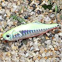 Topwa Wobbler señuelo de la Pesca Señuelo de la Pesca Pequeña Mini Grasa Artificial de Pescado Crank Ganch