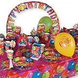 Kit 57teilig Thema Ballon Party für Fete Geburtstag 8Personen