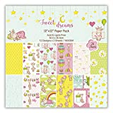 Best Scrapbook Kit - Sweet Dreams Scrapbook Paper (Pack of 24 Sheets) Review