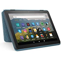 Custodia per tablet Amazon Fire HD 8 (compatibile con dispositivi di 10ª generazione, modello 2020), blu-grigio
