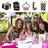 PBPBOX Photo Booth Geburtstagsparty-Set 41 te...Vergleich
