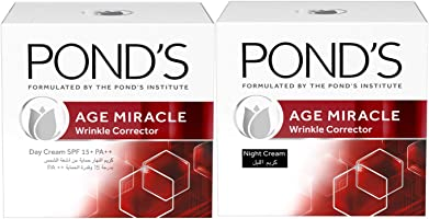 Pond's Age Miracle Day Cream, 50 ml Plus Age Miracle Night Cream, 50 ml