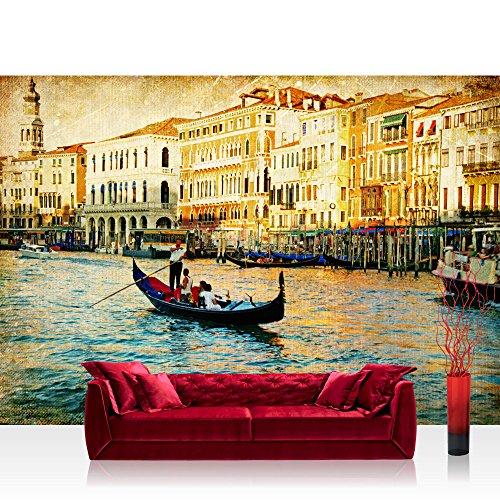 Bolsas de papel de la ciudad de canal de Venecia - no, 240 papel pintado de papel pintado de papel pintado mural de imagen de la foto de la ciudad de Venecia de canal de Italia de botas de agua