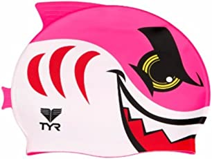 TYR Shark Swim Silicon Cap