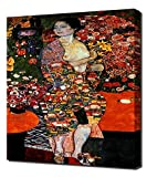 Lilarama Gustav Klimt - The Dancer - Art Leinwandbild - Kunstdrucke - Gemälde Wandbilder