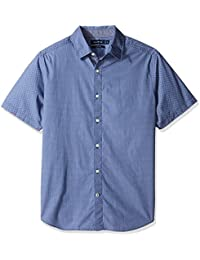 Nautica Print Classic Fit, Chemise Casual Homme