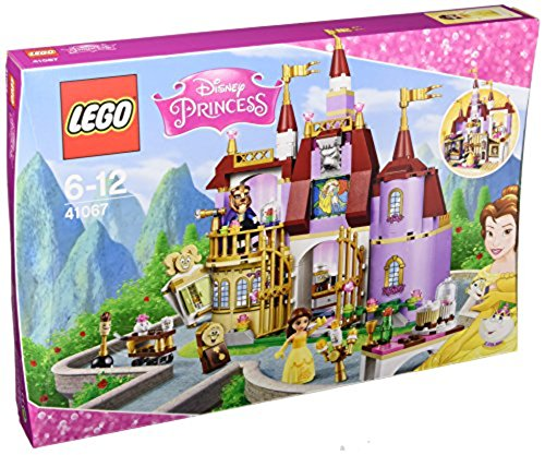 41067 - Belles bezauberndes Schloss, Spielzeug (Disney Belle Zubehör)