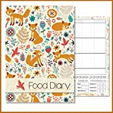 A5 Slimming Diary, Diet Diary, Food Log Journal, Slimming Club, Fill In Your Own Text, Seasonal E