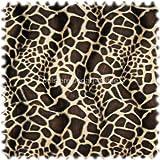 polstereibedarf-online Webpelz/Tierfellimitat Giraffe Creme/Braun