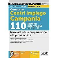 Concorso Centri impiego Campania 110 Sistemi informatici cat. C e D