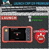 Mister Diagnose® & # x2605; Koffer Diagnose & # x2605; Launch CRP129Premium–geeignet für Golf Audi BMW Clio