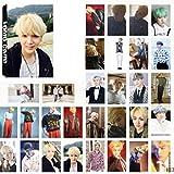 Bellenne 30 Pack BTS Photocard / Fotokarten / Postkarte / Poster, Jungkook, Jimin, V, Suga, Jin, J-Hope, Rap Monster Fanartikel, Sammlung und Beste Geschenk für The Army (H13)