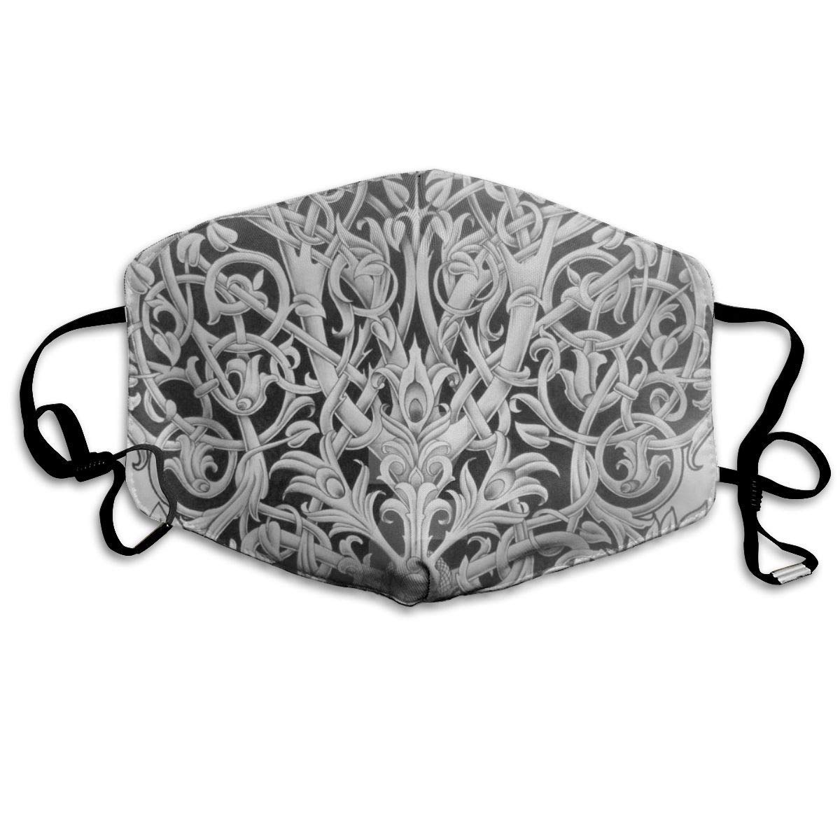 Bdwuhs Mascarillas Bucales,Boca Máscara Dust Mask for Women and Men Tree of Life Printed Foldable Mask Face Mask Anti-Dust Mouth Mask