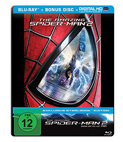 The Amazing Spider-Man 2 - Rise of Electro - Steelbook [Blu-ray] (Amazing Spiderman 2 Electro)