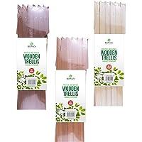 2x Large Expanding Wooden Trellis | 6Ft x 2Ft