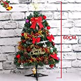 #2: Satyam Kraft 2 Feet Christmas tree with 20 Assorted Tree Decoration items for Christmas decoration/Christmas party/new year party WITH FREE LED BALLOON PACK OF 5