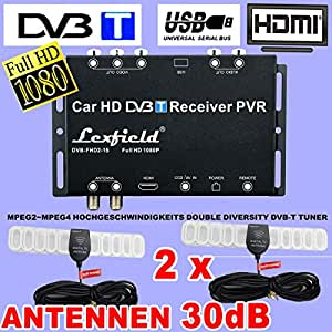 tv auto dvb t true double diversity tuner set mit full. Black Bedroom Furniture Sets. Home Design Ideas