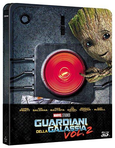 Bild von Guardians Of The Galaxy Volume 2 / 3D Limited Edition Steelbook / Includes 2D version / RegionFree Blu Ray
