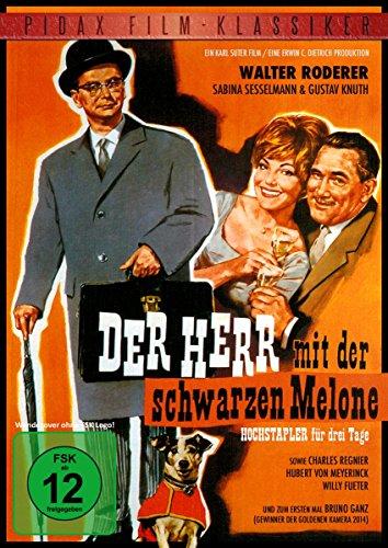 Der Herr mit der schwarzen Melone (Pidax Film-Klassiker)