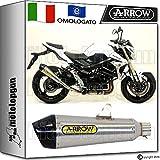 Arrow Auspuff Hom x-kone Nichrom Carby Suzuki GSR 75020111120121220131371776X Ki