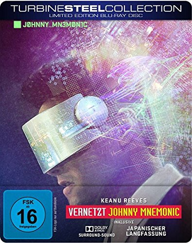 Vernetzt – Johnny Mnemonic -Turbine Steel Collection [Blu-ray] [Limited Edition]