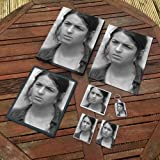 ALANNA MASTERSON - Original Art Gift Set #js002 (Includes - A4 Canvas - A4 Print - Coaster - Fridge Magnet - Keyring - Mouse Mat - Sketch Card)