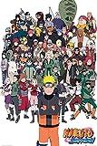 empireposter 741073 Naruto Shippuden- Group - Manga Anime Poster, Papier, Bunt, 91.5 x 61 x 0.14 cm