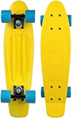"""Long Island Longboards Cruiser Complete Buddy Yellow 22.5"""" Complete"""