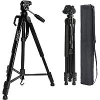 Uonner Kamera Stativ Tripod 172cm 67.7 Zoll Stativ Kamera Fotostativ Aluminum Reisestativ für DSLR SLR Canon Nikon Sony…