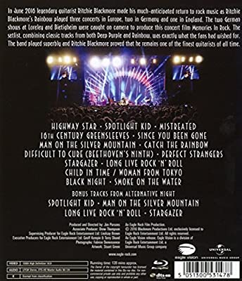 Ritchie Blackmore's Rainbow - Memories in Rock : Live in Germany [Blu-ray] [Import italien]