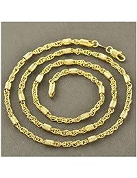 Collier en or jaune 18 carats LIVRAISON GRATUITE - Chaîne 18k